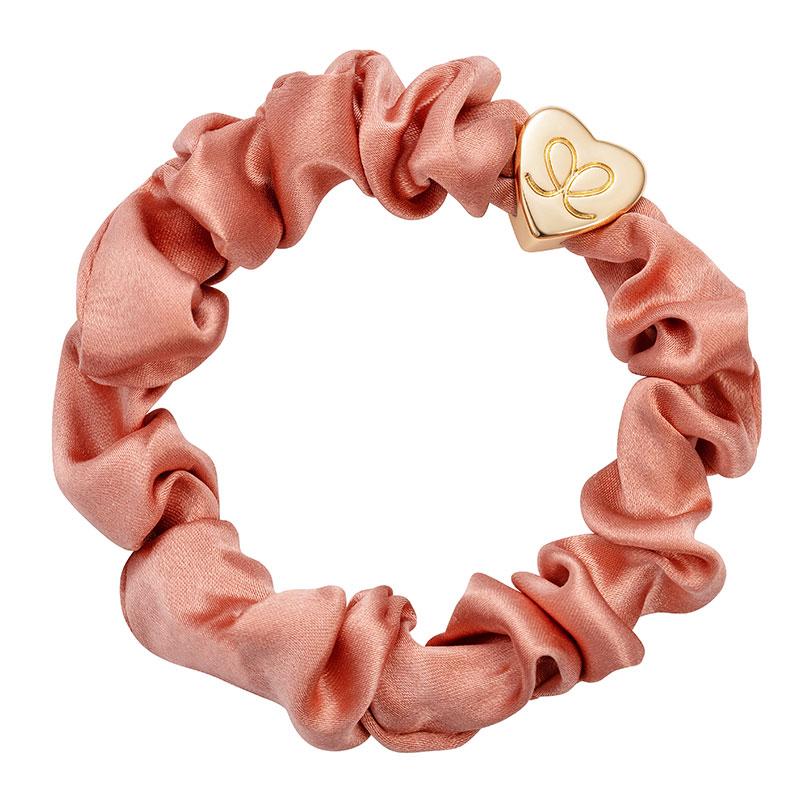 ByEloise Silk Scrunchie · Apricot Blush · Haargummi