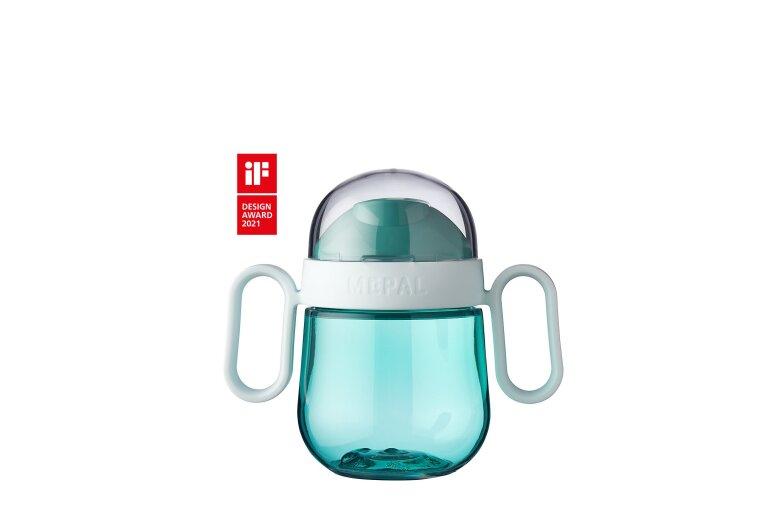 MEPAL Antitropf-Trinklernbecher Mepal Mio 200 ml - deep turquoise