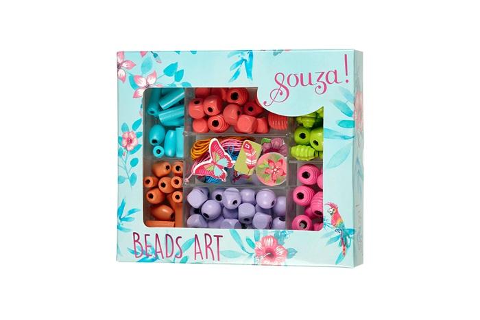 Souza for Kids Bastelset Perlen Garten in Geschenkverpackung