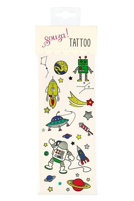 Souza for Kids Tattoo Set Weltall - Astronaut