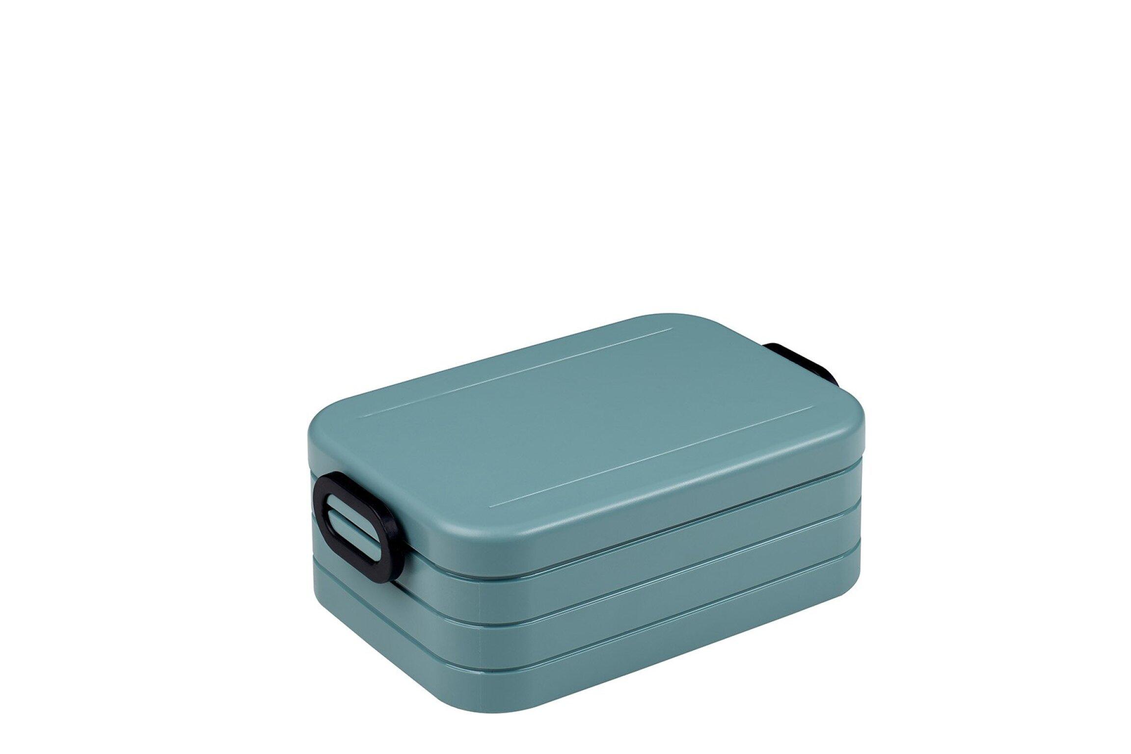 MEPAL Lunchset Unterwegs (Lunchbox + Trinkflasche) - Nordic green