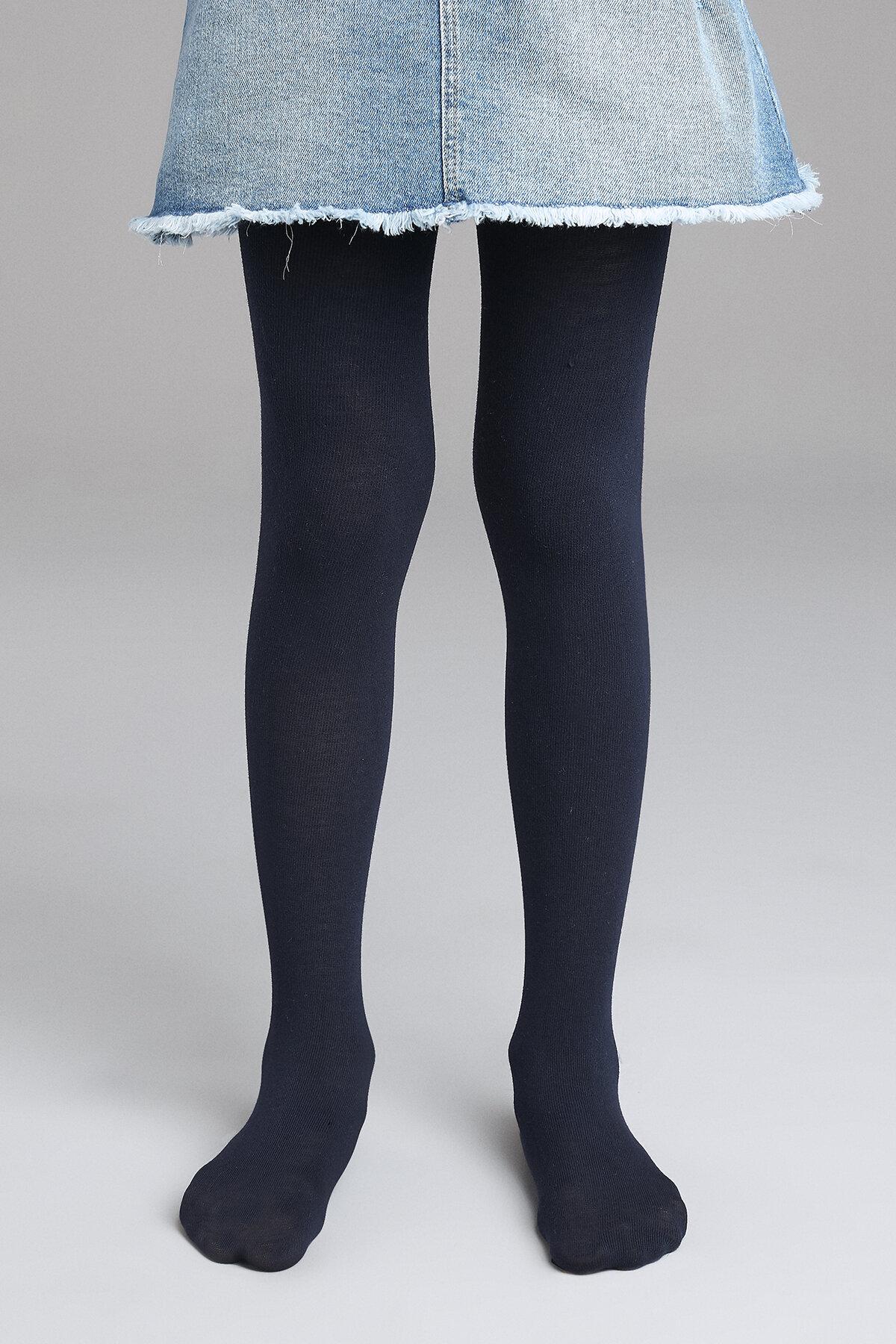 Penti Strumpfhose Extra Baumwolle dunkelblau