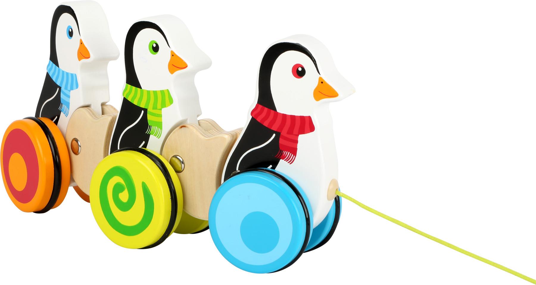 small foot company - Ziehspielzeug Pinguine