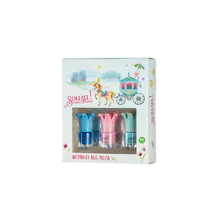 Souza for Kids Nagellack auf Wasserbasis für Kinder ( Set mit 3 Farben)