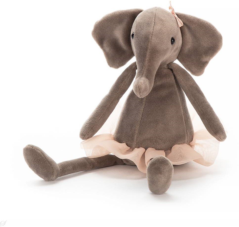 Jelly Cat Dancing Elefant Klein 23 cm
