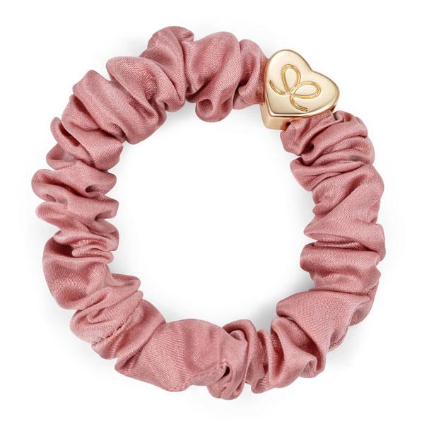 ByEloise Silk Scrunchie · Champagne Pink · Haargummi