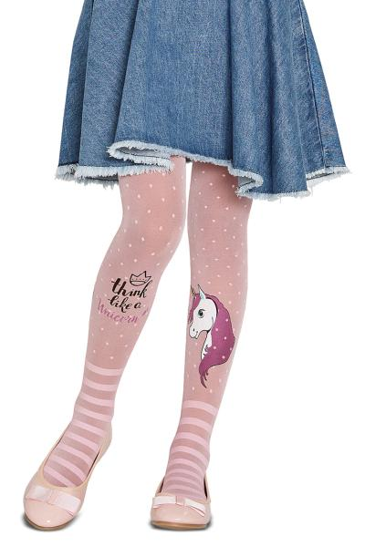 Penti Strumpfhose Unicorn - Einhorn rosa
